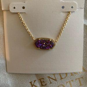 Kendra Scott Elisa Multicolor Druzy Gold N…